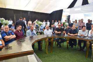 """محافظ بورسعيد ولجنة محلية النواب يشيدون بأعمال تطوير """"نيو بلان"""" لمشروعي """"إيكلا"""" و """" ساحة مصر"""""""